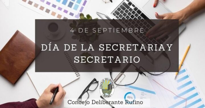 Día de la secretaria y secretario