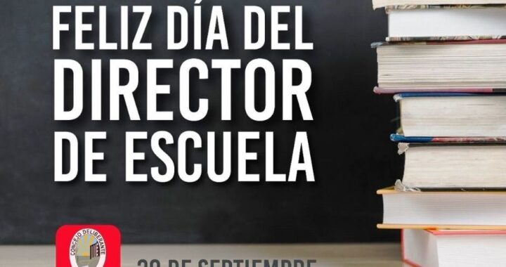 ¡FELIZ DÍA DEL DIRECTOR Y DIRECTORA!